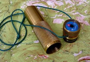 Brass K&M Match Case