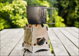 Emberlit Camping Stove