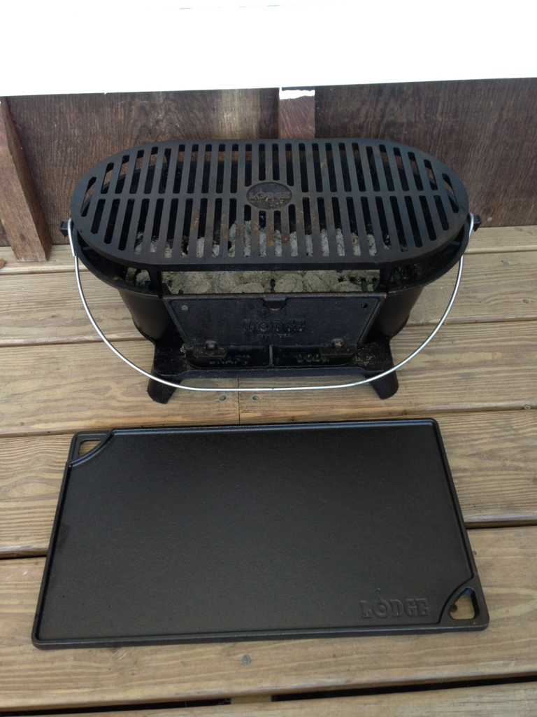 Survival Gear Review Lodge Cast Iron Sportsman S Grill