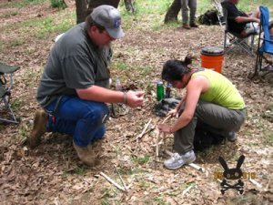 Bow Drill Fire Making 2