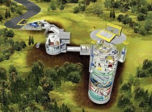 UK firm Powerhouse have designed an underground bunker
